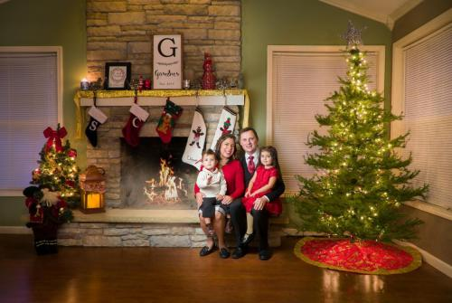 Family Christmas Photo Jamestown NY